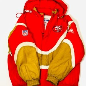 APEX NFL AUTHENTIC PRO LINE SAN FRAN 49ERS JACKET fcf3b8097f